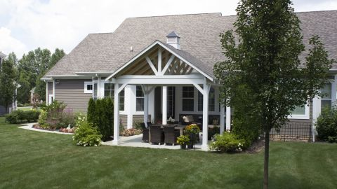 Wood Pavilions - Our Products - Bosman Homefront