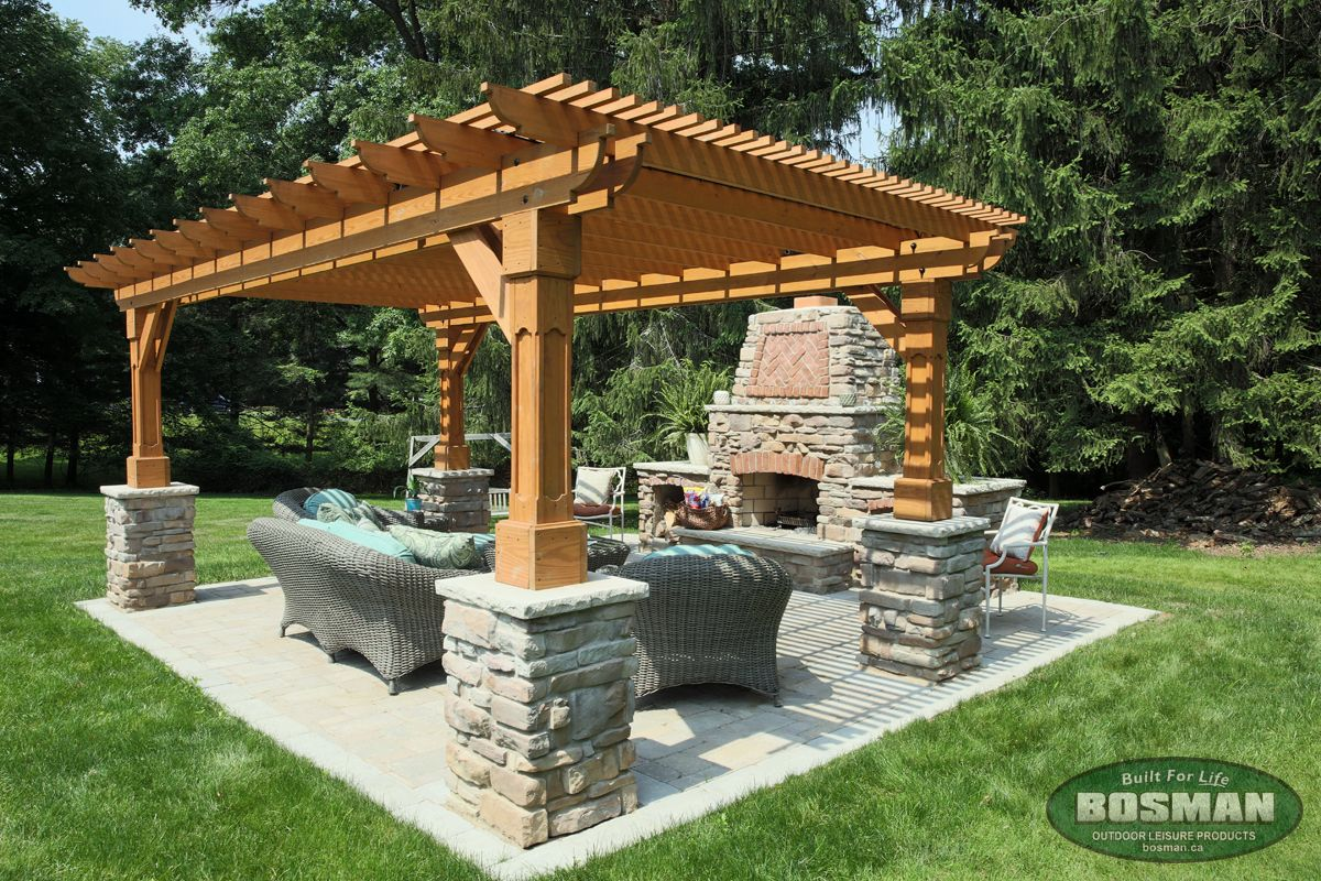 Outback Wood Pergola Our Products Bosman Homefront