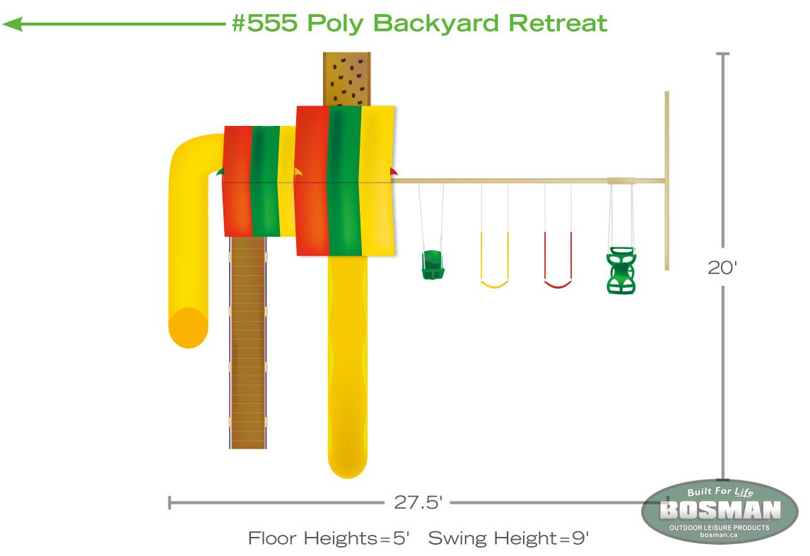 P549 Poly Backyard Retreat Our Products Bosman Homefront